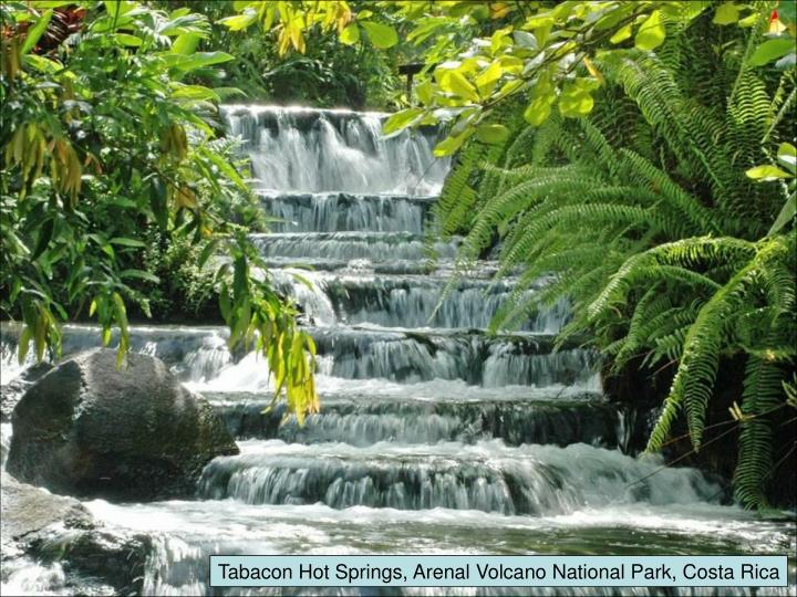 Tabacon Hot Springs, Arenal Volcano National Park, Costa Rica