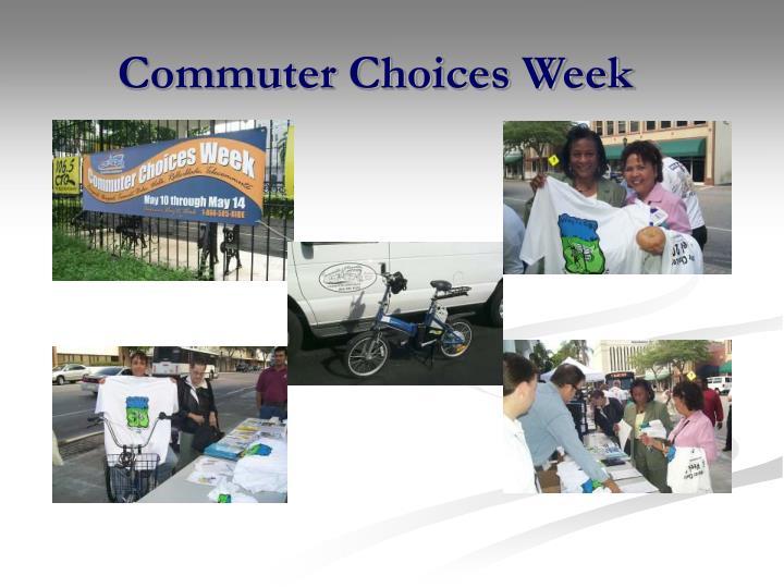 Commuter Choices Week