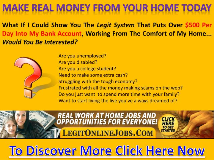 Opportunities from home1