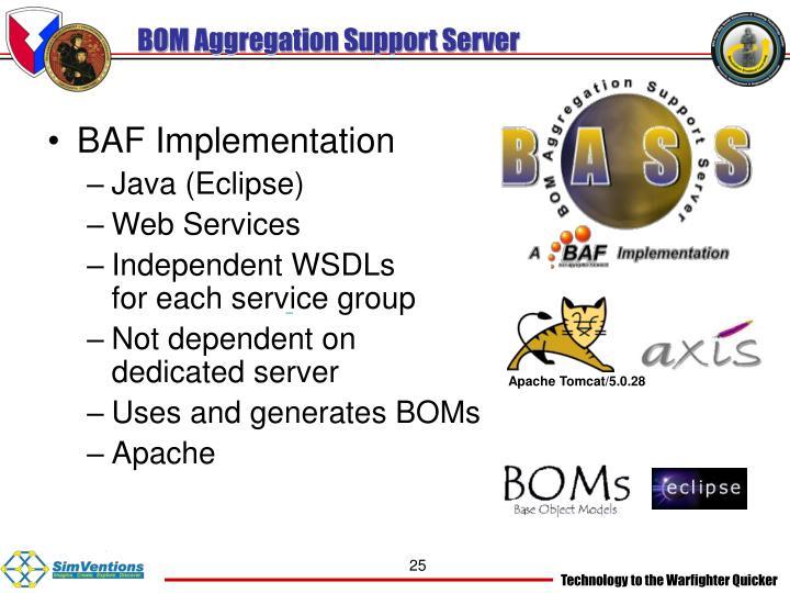 BOM Aggregation Support Server