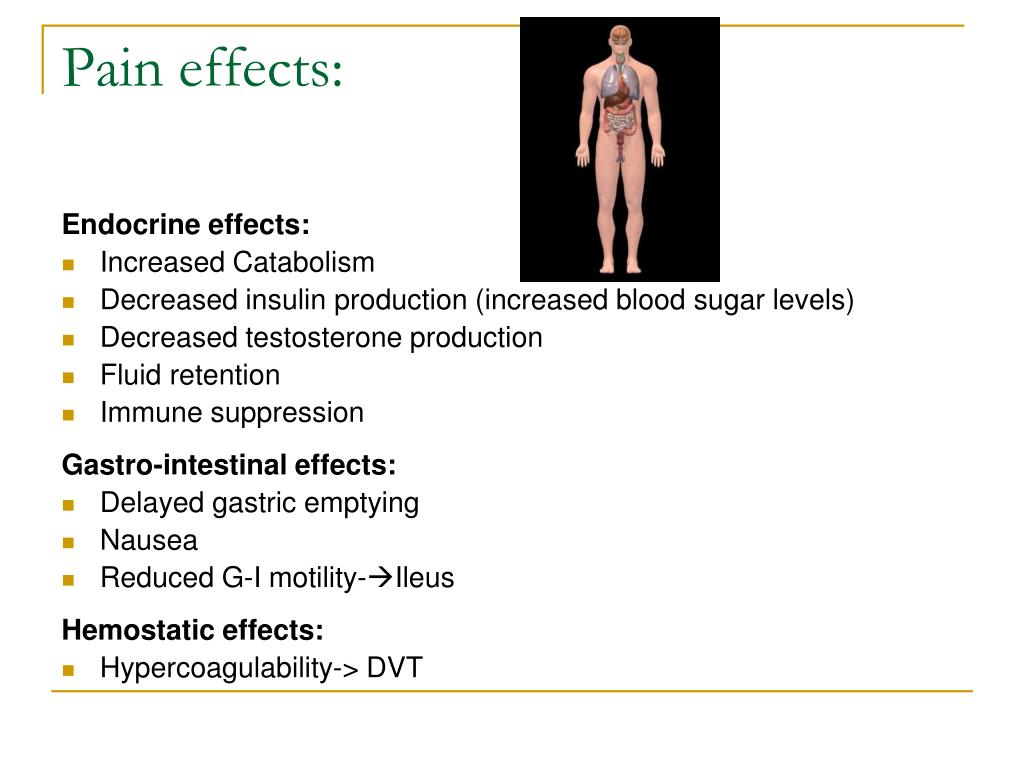 PPT - Post-Op Pain management in Specific Patient Populations by Dr
