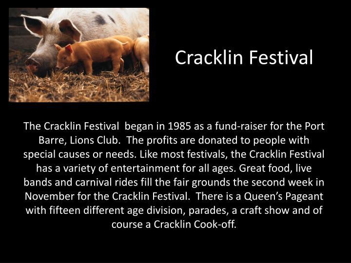 Cracklin Festival