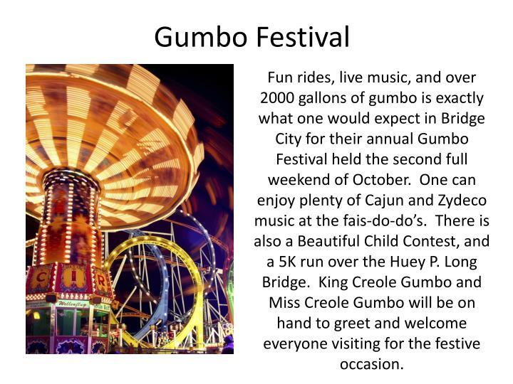 Gumbo Festival