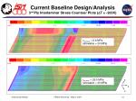 current baseline design analysis 3 rd ply interlaminar stress countour plots d t 263k
