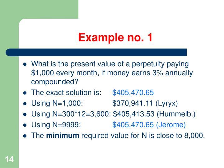 Example no. 1