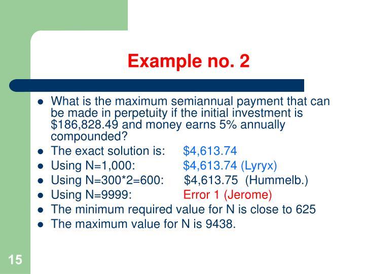 Example no. 2