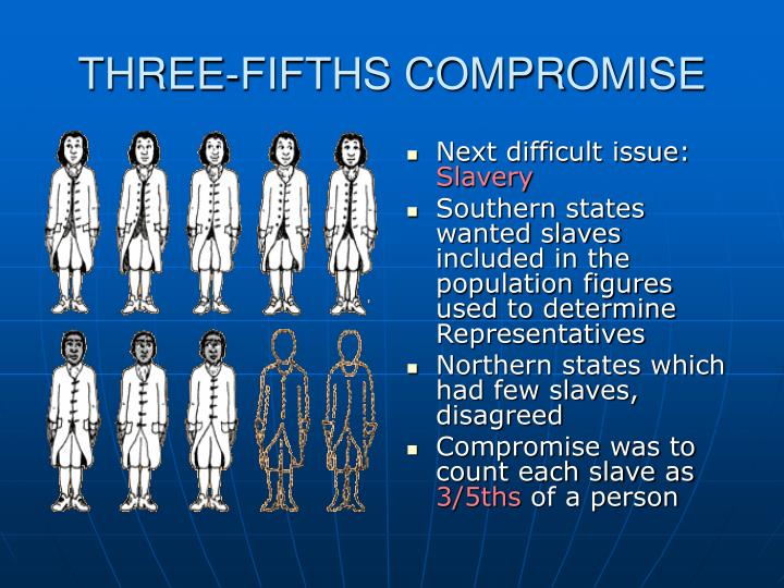 THREE-FIFTHS COMPROMISE