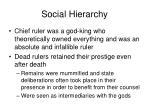 social hierarchy5
