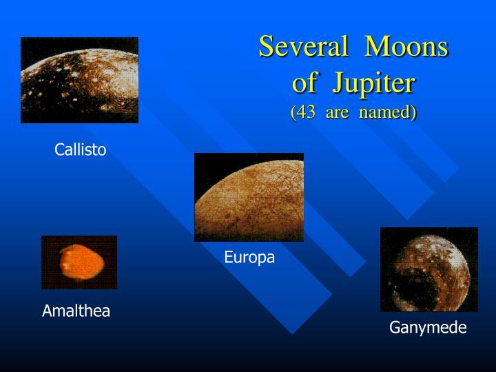 Several  Moons  of  Jupiter