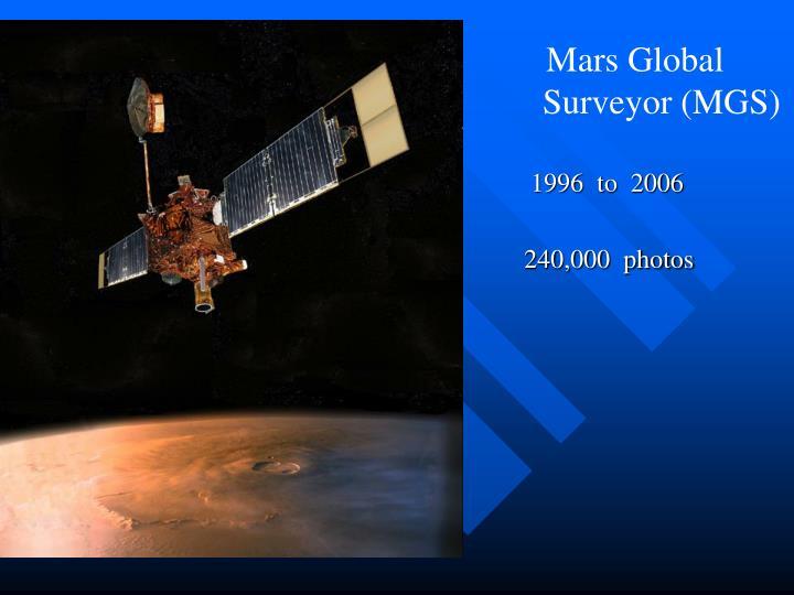 Mars Global Surveyor (MGS)