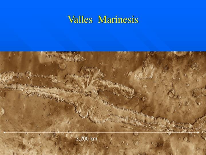 Valles  Marinesis