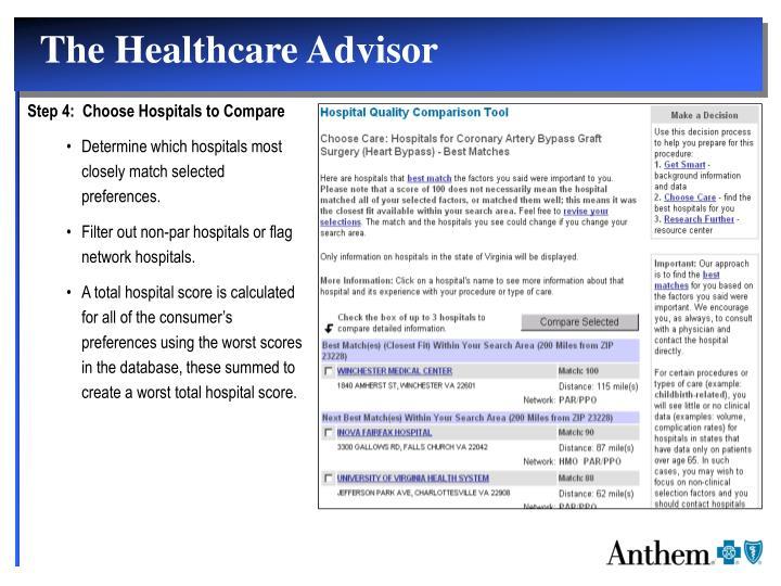 The Healthcare Advisor