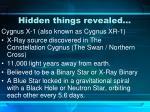 hidden things revealed
