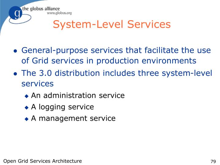 System-Level Services