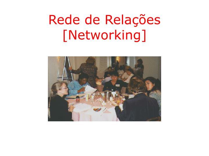 Rede de Relações [Networking]