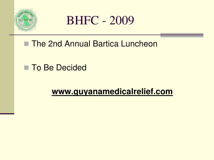 BHFC - 2009
