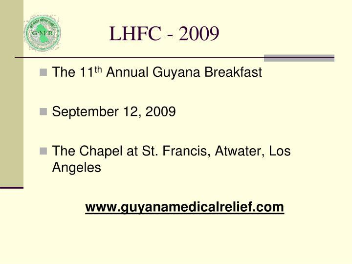 LHFC - 2009