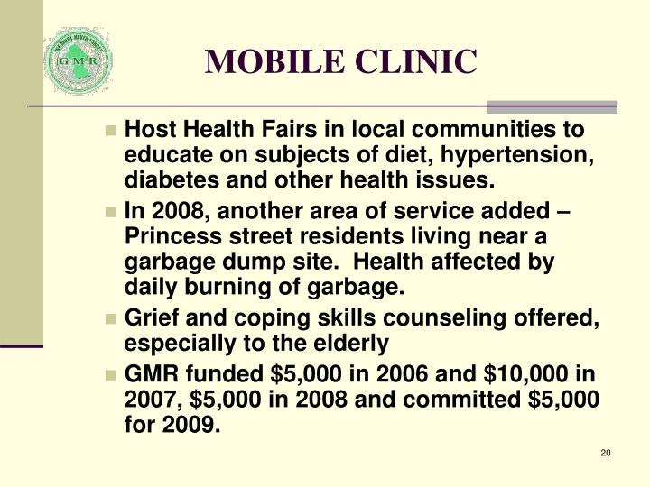 MOBILE CLINIC