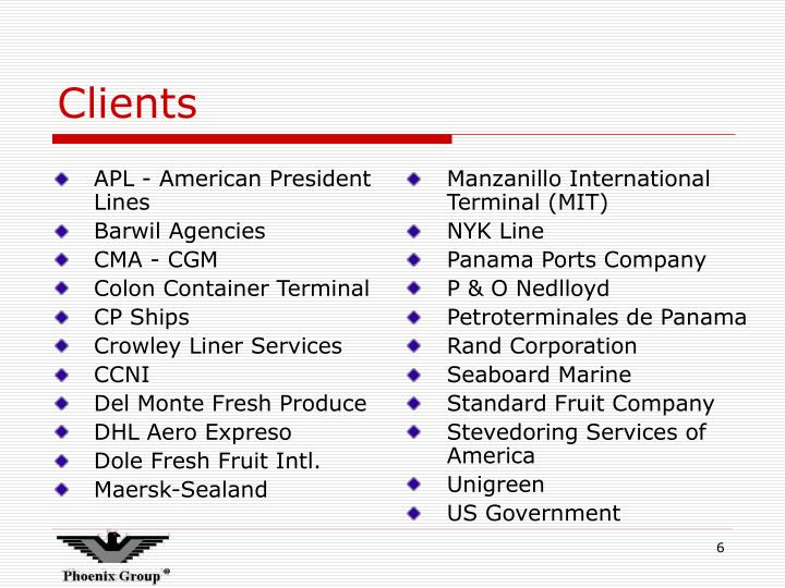APL - American President Lines