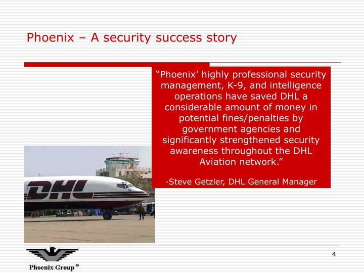 Phoenix – A security success story