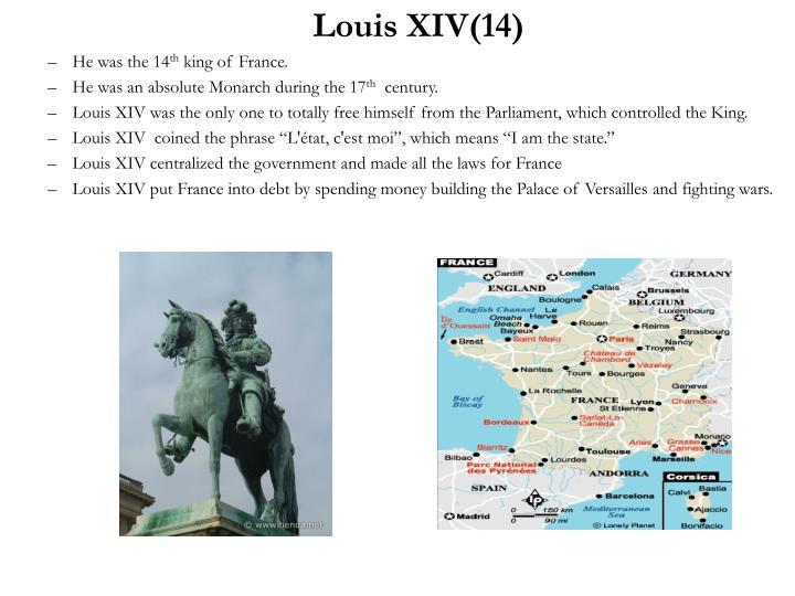 Louis XIV(14)