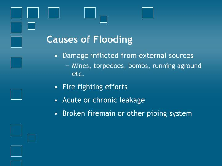Causes of Flooding