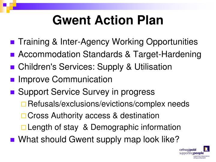 Gwent Action Plan