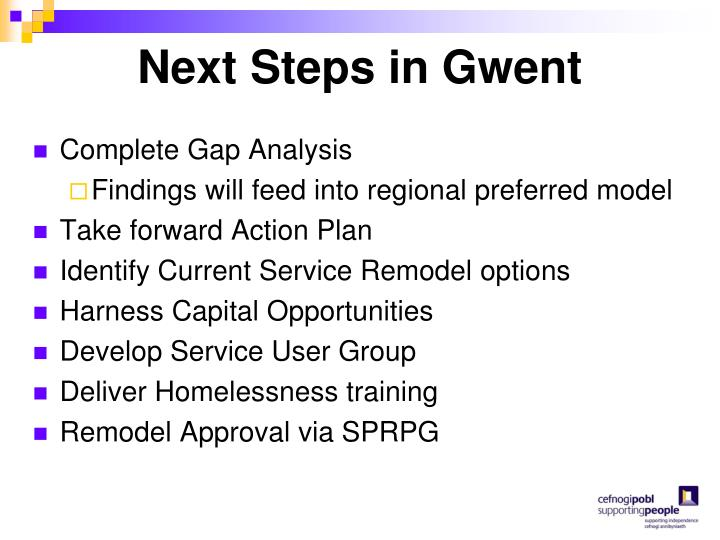 Next Steps in Gwent