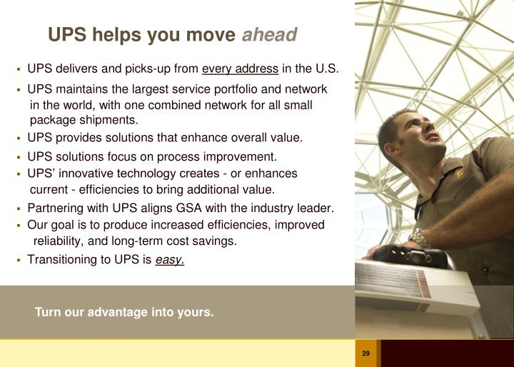 UPS helps you move