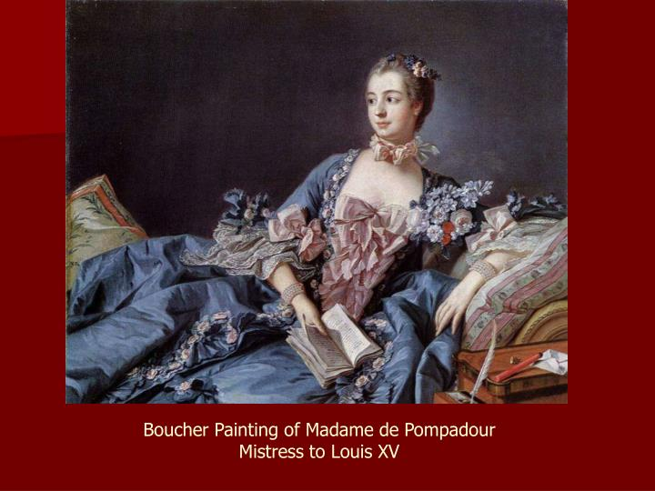 Boucher Painting of Madame de Pompadour