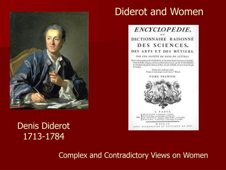 Diderot and Women