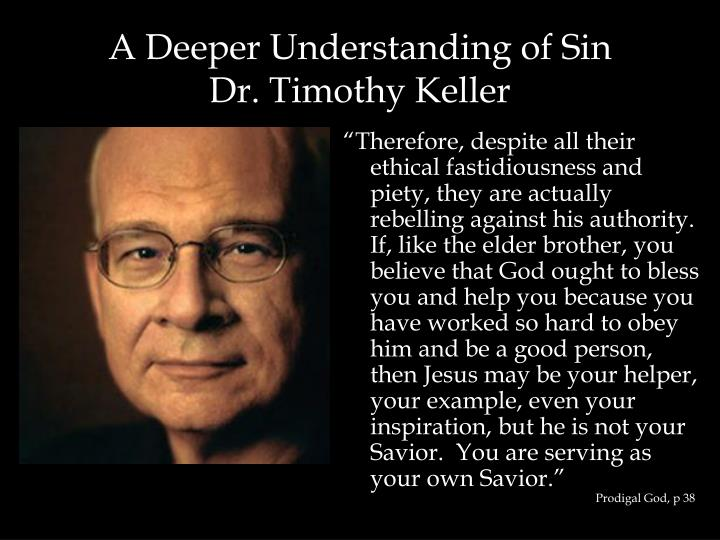 A Deeper Understanding of Sin