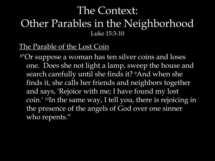 The Context:
