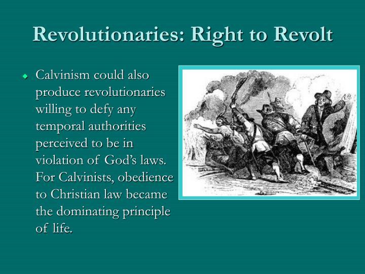 Revolutionaries: Right to Revolt