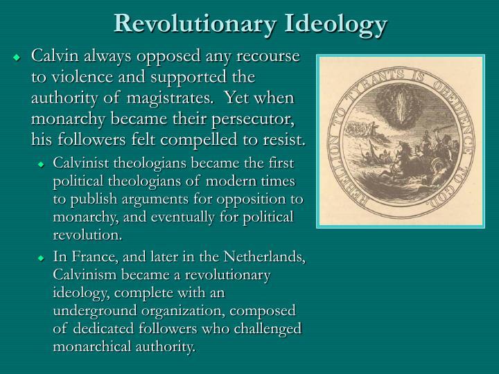 Revolutionary Ideology