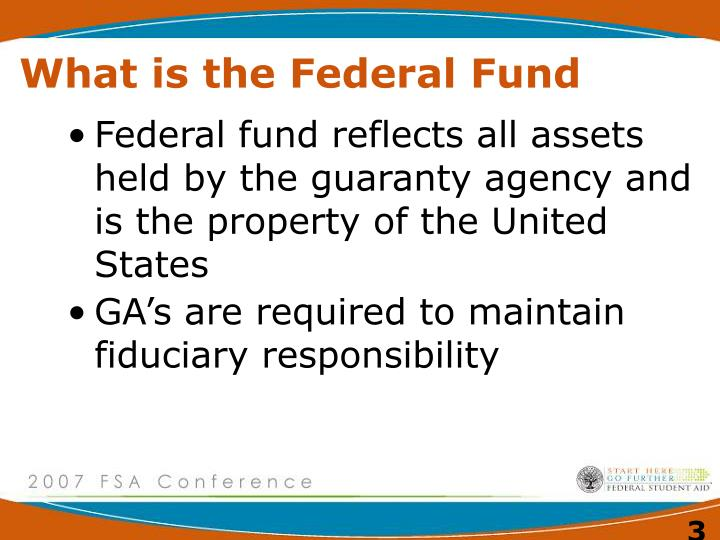 What is the federal fund