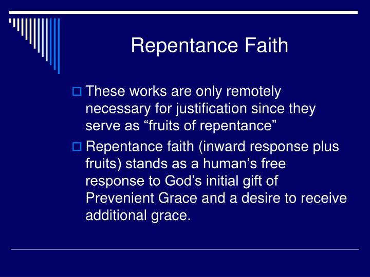 Repentance Faith