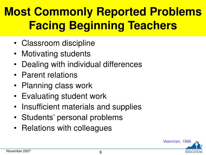 Most Commonly Reported Problems