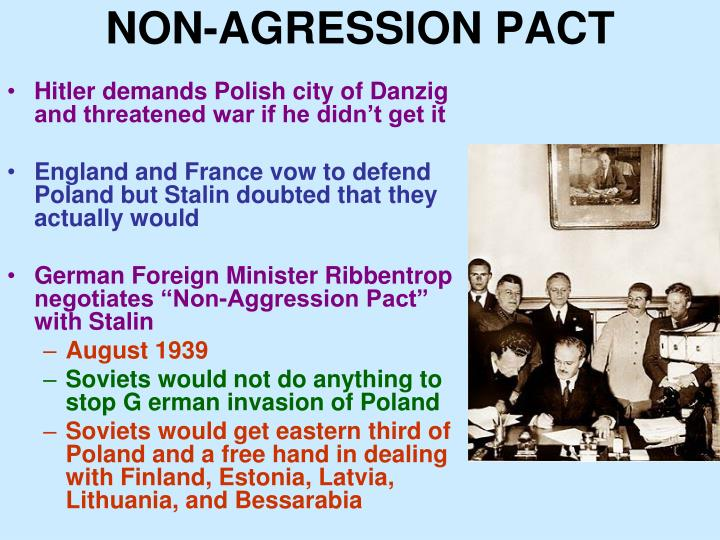NON-AGRESSION PACT