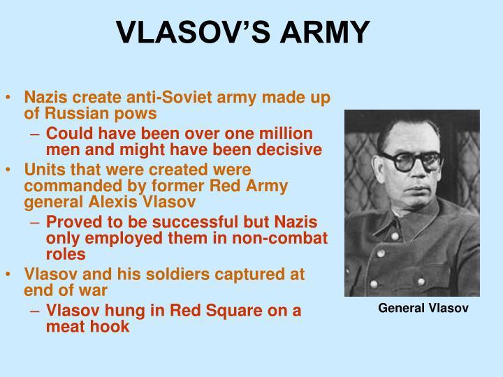 VLASOV'S ARMY