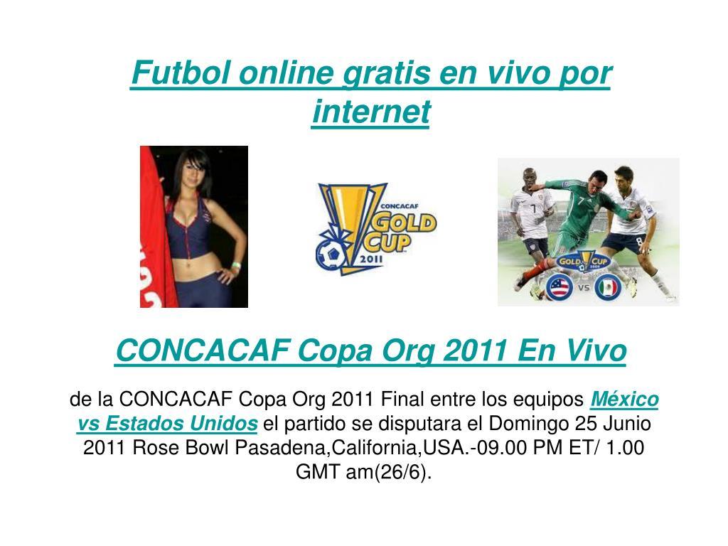 futbol online gratis en vivo por internet l.