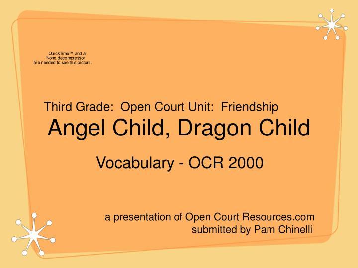 Angel child dragon child