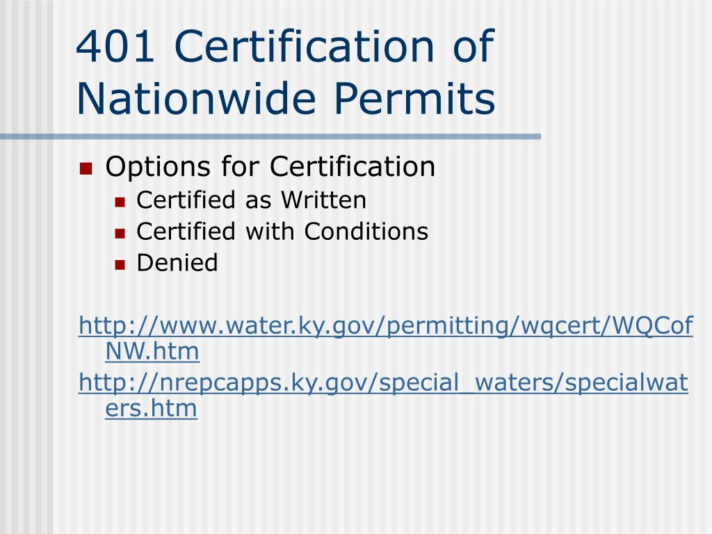 wqc certification overview process ppt powerpoint presentation water