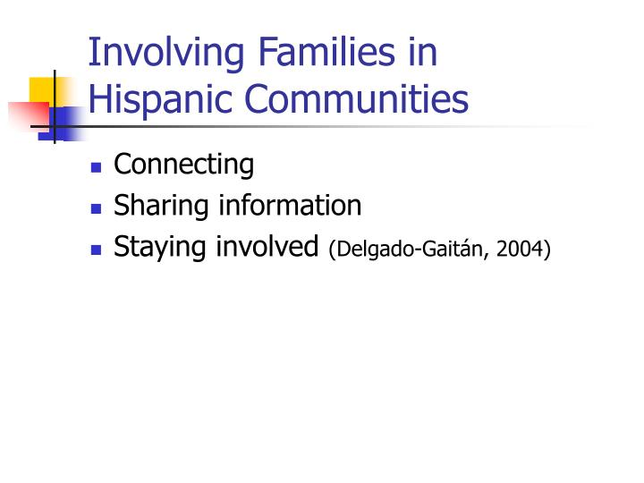 Involving Families in