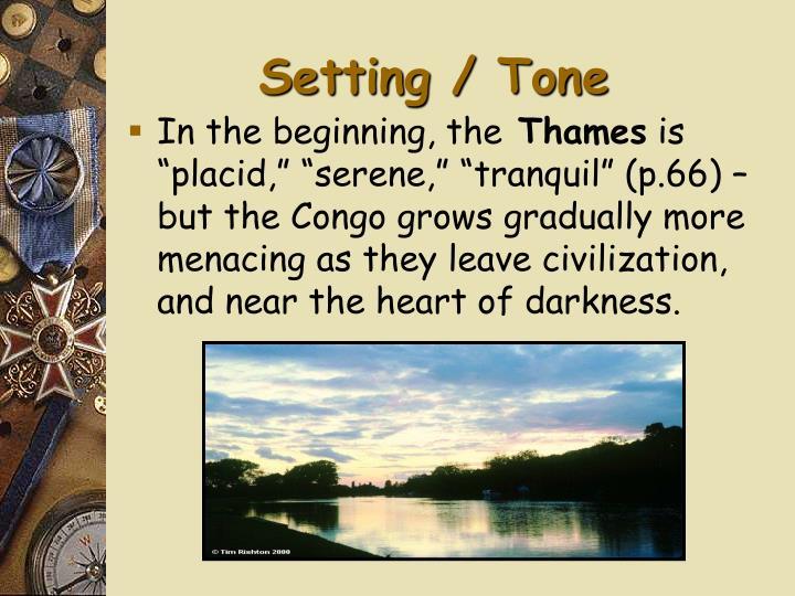 Setting tone