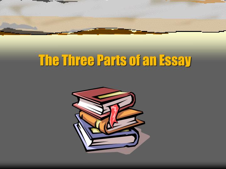 the three parts of an essay n.