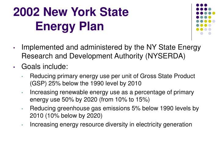2002 New York State