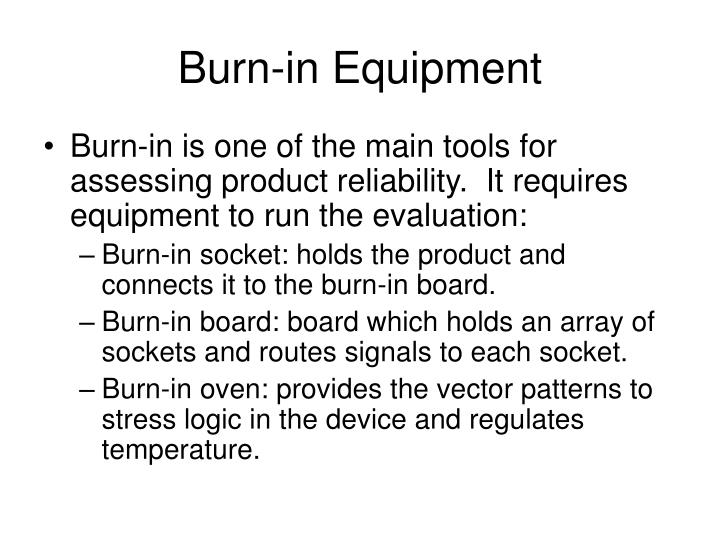 Burn-in Equipment