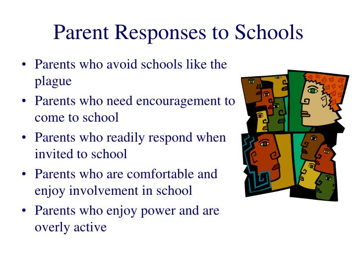 Parent Responses to Schools