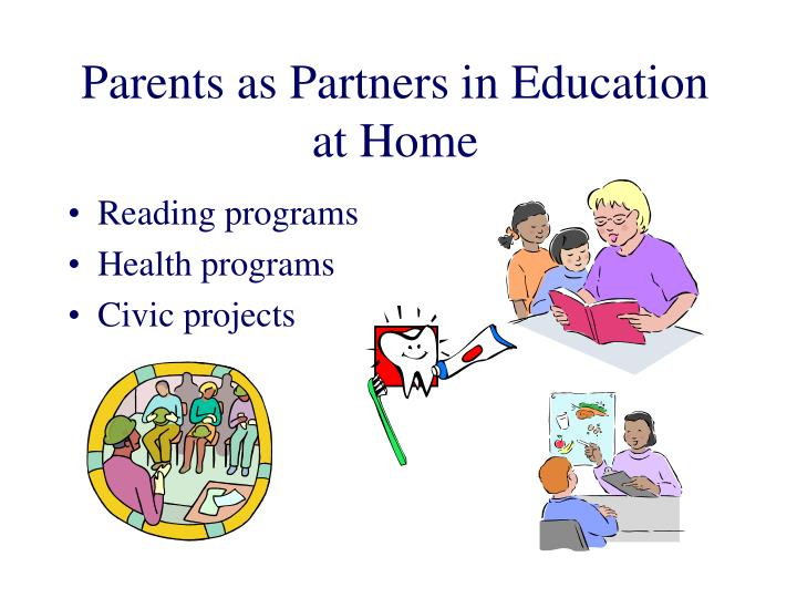 Parents as Partners in Education at Home